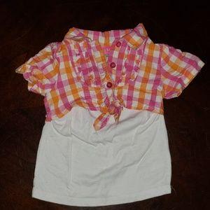 12mo short sleeve shirt